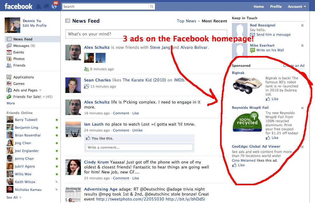3 hp facebook ads1 Learn How To Successfully Advertise With Facebook
